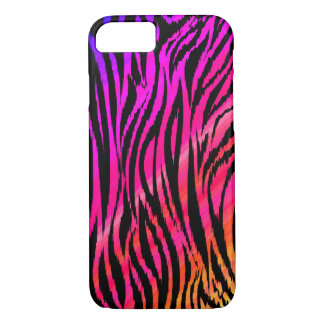 Wild Zebra Pattern 01 iPhone 7 Case