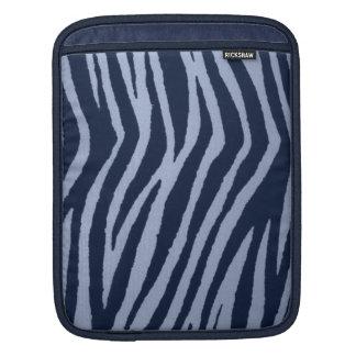 Wild Zebra Print Denim Sleeve For iPads