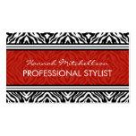 Wild Zebra Professional Business Cards