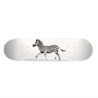 Wild Zebra Skate Board Decks