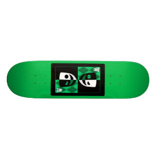 Wildcard Poker Faces 21.6 Cm Skateboard Deck