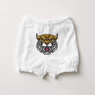 Wildcat Bobcat Mascot Nappy Cover