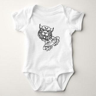 Wildcat Gamer Mascot Baby Bodysuit