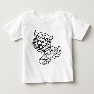 Wildcat Gamer Mascot Baby T-Shirt