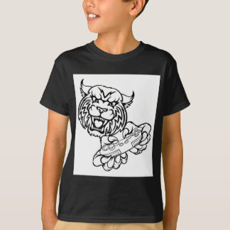 Wildcat Gamer Mascot T-Shirt