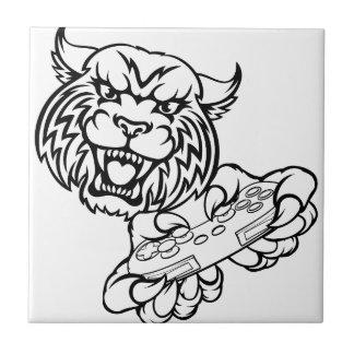 Wildcat Gamer Mascot Tile