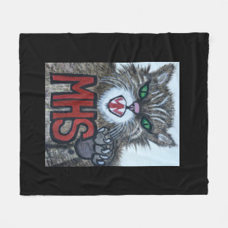 Wildcat throw blanket