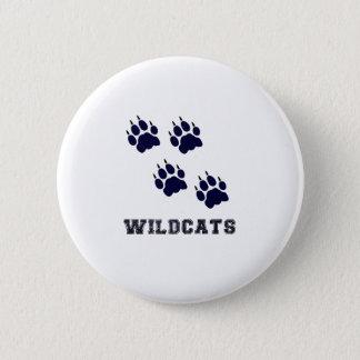Wildcat Tracks 6 Cm Round Badge