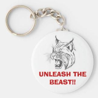 wildcat, UNLEASH THE BEAST!! Key Ring