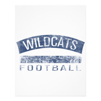 WILDCATS Football - #58 (blue) Flyer
