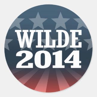WILDE 2014 STICKER