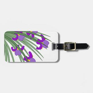 Wilde Iris Adress Schild