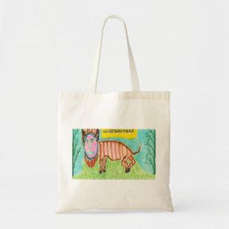 Wildebeastman Tote Bags