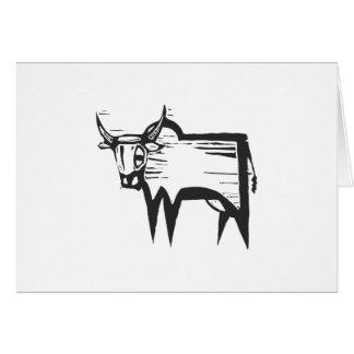 Wildebeest Card
