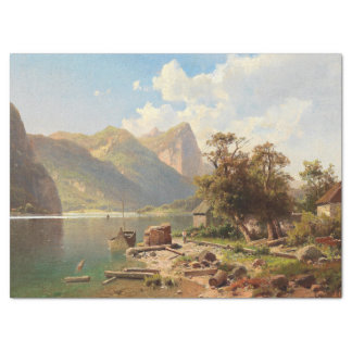Wilderness Alps Mountain Alpine Lake Tissue Paper
