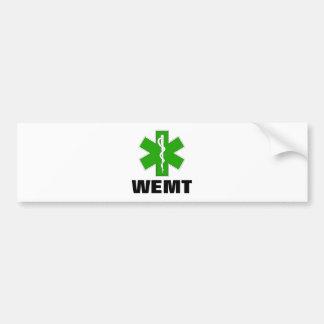 Wilderness EMT Bumper Sticker