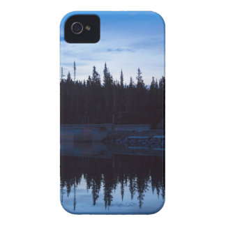 Wilderness Forest Blues iPhone 4 Case
