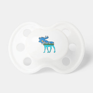 Wilderness Moose Baby Pacifiers