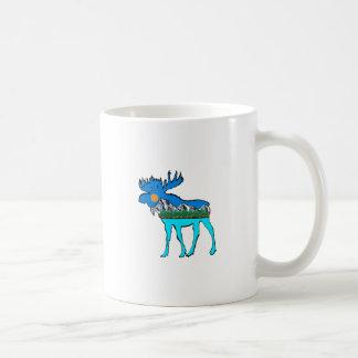 Wilderness Moose Coffee Mug