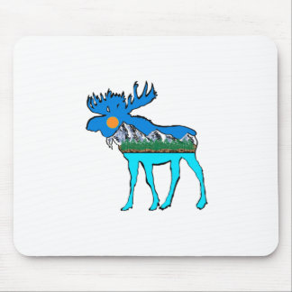 Wilderness Moose Mouse Pad