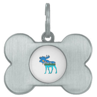 Wilderness Moose Pet ID Tag