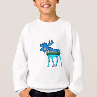 Wilderness Moose Sweatshirt