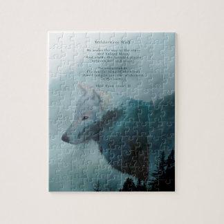 Wilderness Wolf & Eco Poem Jigsaw Puzzle