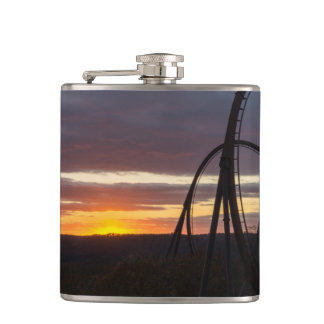 Wildfire Sunset Hip Flask
