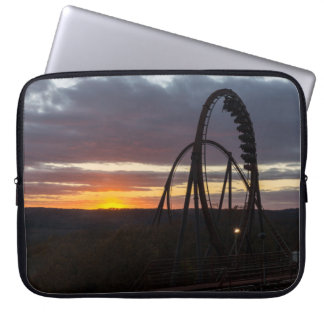 Wildfire Sunset Laptop Sleeve