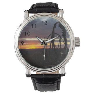 Wildfire Sunset Wrist Watches