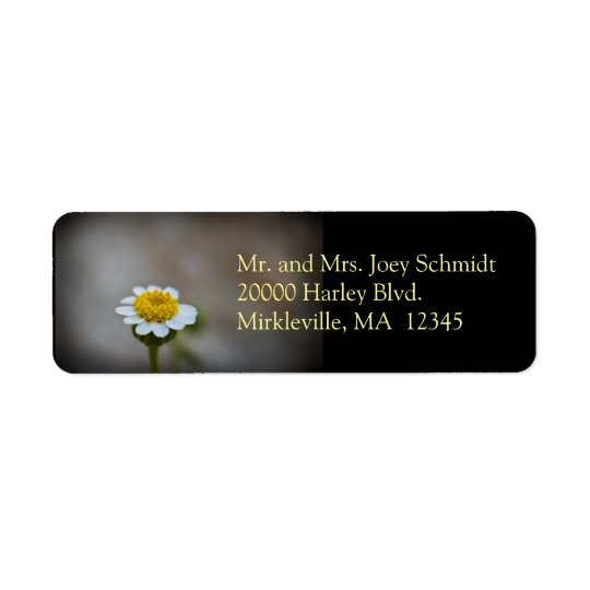 Wildflower 3 Return Address Label