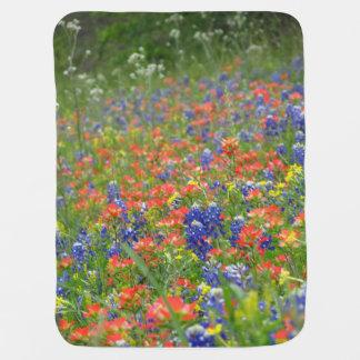 Wildflower baby blanket