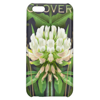 Wildflower Botanicals: White Clover iPhone 5C Covers