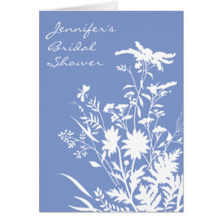 Wildflower Bridal Shower Invitation - 5x7 Card