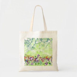 Wildflower Budget Tote Bag