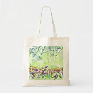 Wildflower Budget Tote Bag