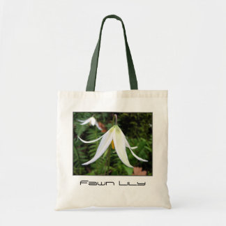 Wildflower - Fawn Lily Tote Bag