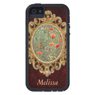 Wildflower Field and Red Poppies Blooming Tough Xtreme iPhone 5 Case