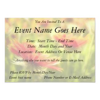 Wildflower Field - Gaillardia 13 Cm X 18 Cm Invitation Card