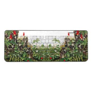 Wildflower Flowers Meadow Art Wireless Keyboard
