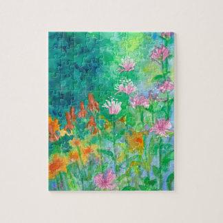 Wildflower Garden Jigsaw Puzzle