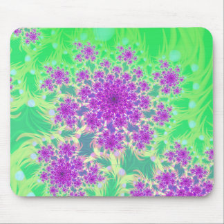 wildflower heads mouse mats