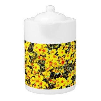 Wildflower Medium Tea Pot
