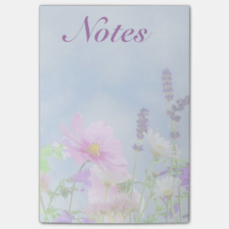 Wildflower Post It Notes