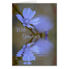 Wildflower Reflections Thank You Card