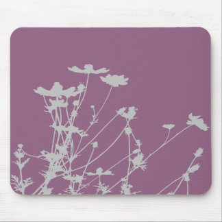 Wildflower Silhouette Mousepad