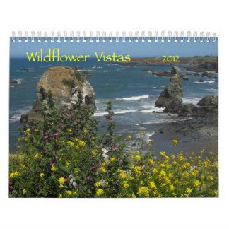 Wildflower Vistas 2012 calendar