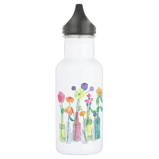Wildflower Water Bottle