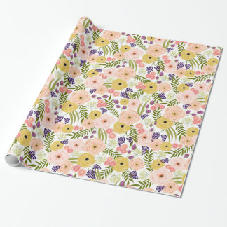 Wildflower Wrapping Paper