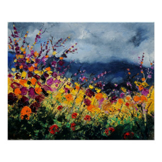 wildflowers45 poster